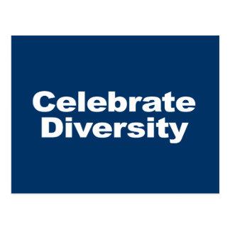 Anti-Republican - Celebrate Diversity Postcards
