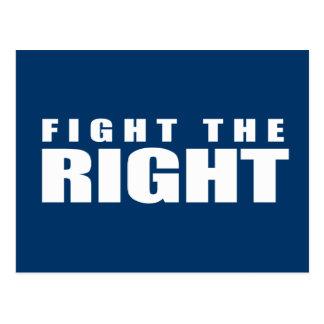 Anti-Republican - Fight the Right Post Card