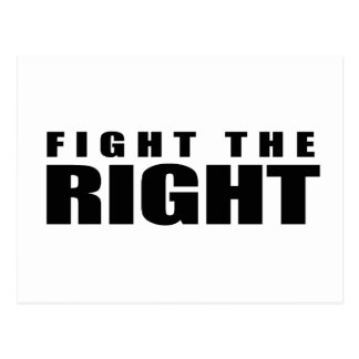 Anti-Republican - Fight the Right Post Cards