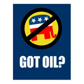 Anti-Republican - Got Oil Post Card
