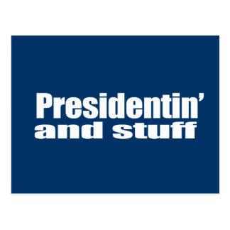 Anti-Republican - Presidentin' and stuff Postcard