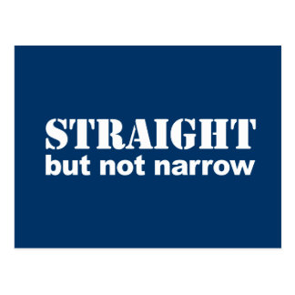 Anti-Republican - Straight but not narrow Post Cards