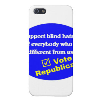 Anti Republican T-shirt iPhone 5/5S Covers