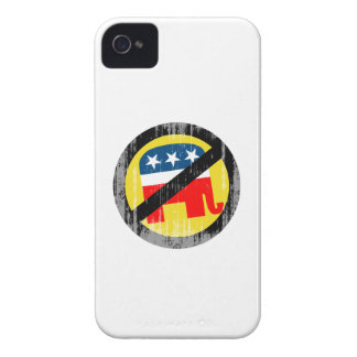 Anti-Republican yellow Faded.png iPhone 4 Cover