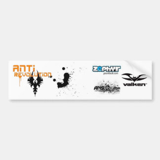 Anti Revolution Bumper Sticker