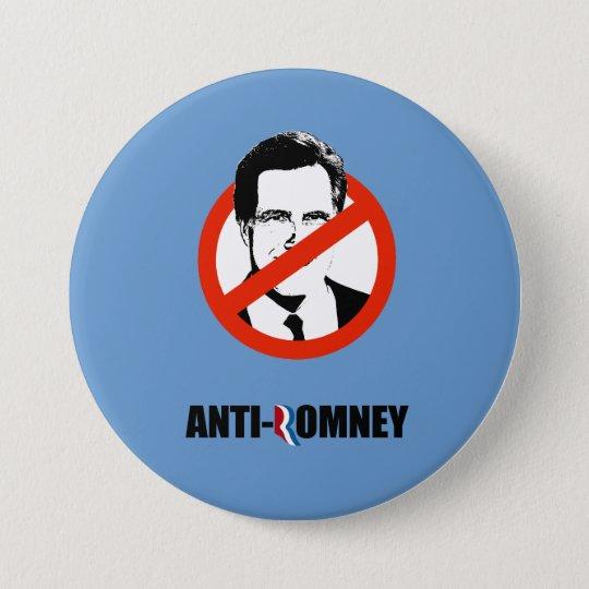 ANTI-ROMNEY -.png 7.5 Cm Round Badge