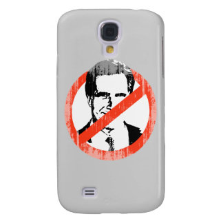 ANTI ROMNEY SLOGAN Faded.png Galaxy S4 Cases
