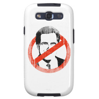 Anti Romney White png Galaxy S3 Covers