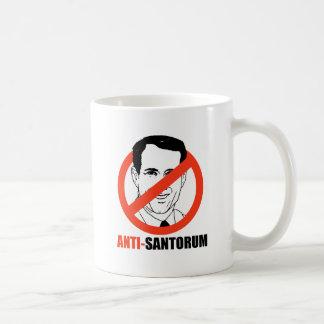 Anti-Santorum- Coffee Mugs