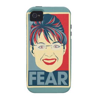 Anti Sarah Palin Fear Pardoy Vibe iPhone 4 Covers