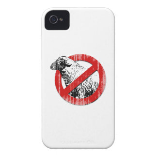 Anti-Sheep Faded.png iPhone 4 Cases