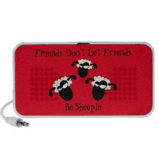 Anti-Sheeple Travel Speakers