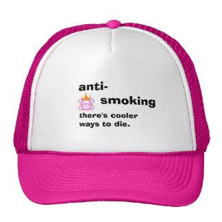 ANTI SMOKING MESH HAT