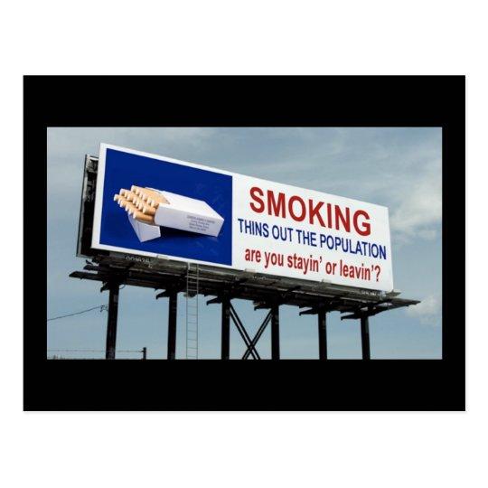 Anti-Smoking - Postcard