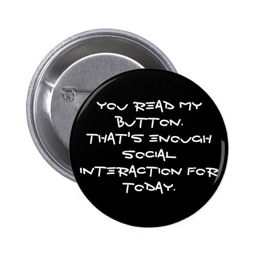 anti social pinback buttons