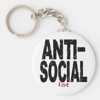Anti-Social Ist Anti-Socialist Key Chains