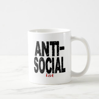 Anti-Social Ist (Anti-Socialist) Mug