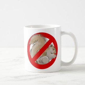 Anti-Squirrel Basic White Mug