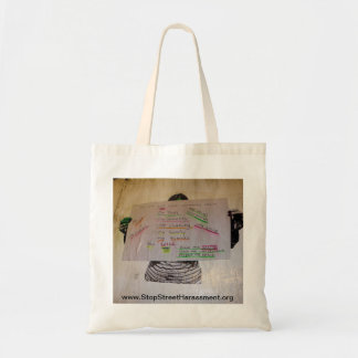Anti-Street Harassment Tote Bag