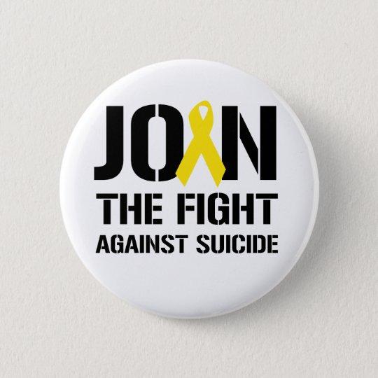 Anti-Suicide 6 Cm Round Badge