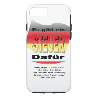 Anti-Tax (Germany) iPhone 7 Case