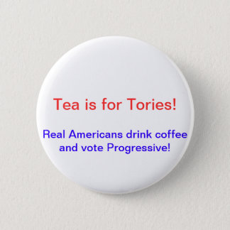 Anti Tea Party 6 Cm Round Badge