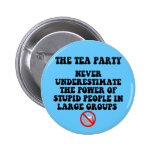 Anti tea party buttons