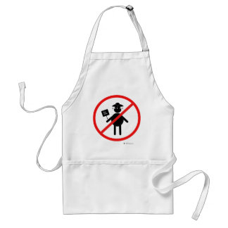 Anti teabagger adult apron