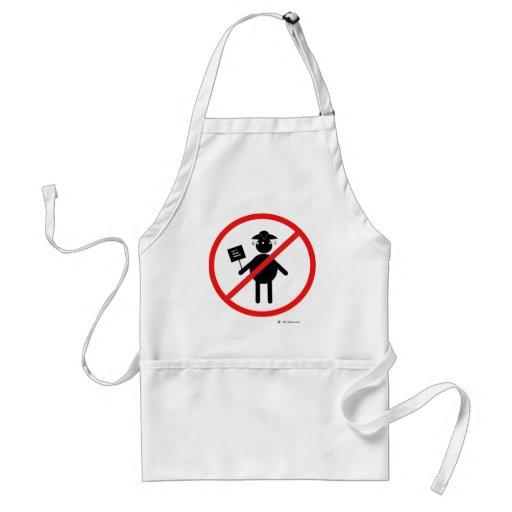 Anti teabagger aprons