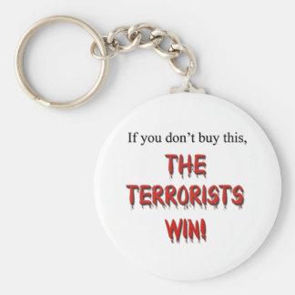 Anti-Terrorism! Key Chain
