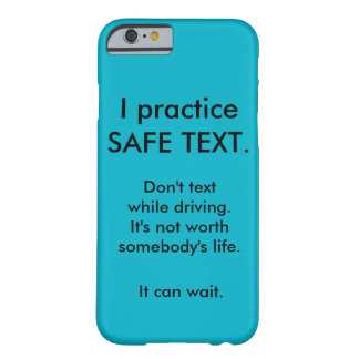 Anti texting while driving iphone case