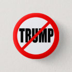 ANTI-TRUMP 3 CM ROUND BADGE