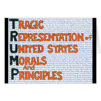 Anti Trump Card TRUMP ANAGRAM