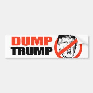 ANTI-TRUMP - DUMP TRUMP - BUMPER STICKER