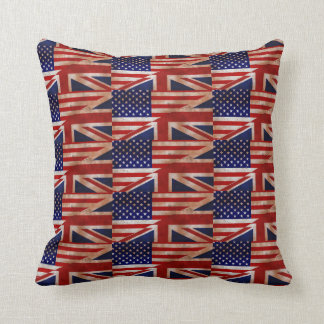 Anti Trump: Make America Great Britain Again! Cushion