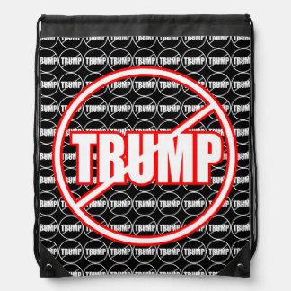Anti Trump No Trump Custom Donald Trump Backpack