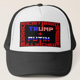 Anti Trump+Putin Trucker Hat