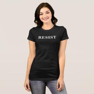 anti trump resist women march t-shirt black white