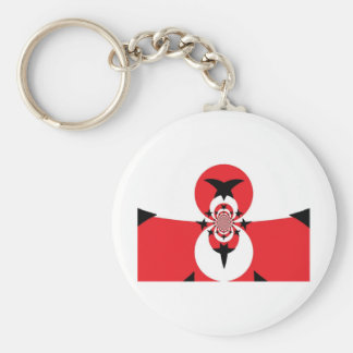 Anti-Tyranny Freedom Flag Basic Round Button Key Ring