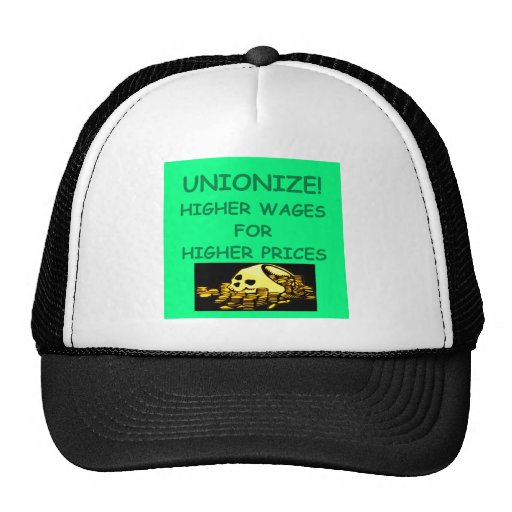 anti union mesh hats