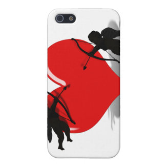 Anti-Valentine - Cupid s Duel Add your Text iPhone 5 Cases