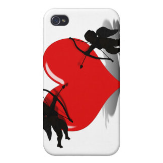Anti-Valentine - Cupid's Duel (Add your Text) iPhone 4/4S Cases