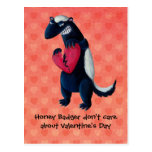 Anti Valentine Honey Badger