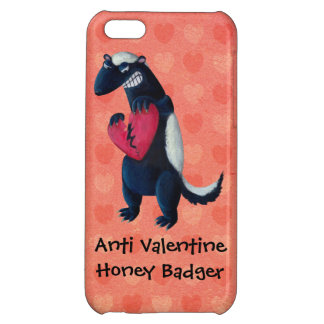 Anti Valentine Honey Badger Case For iPhone 5C