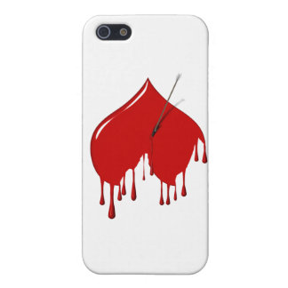 Anti-Valentine - Upside Down Heart Add Text iPhone 5 Covers