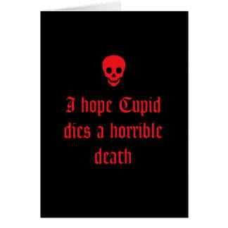 Anti Valentine's Day Greeting Card