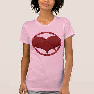 Anti Valentine's Day Heart: S.A.D. by Sonja A.S. T-Shirt
