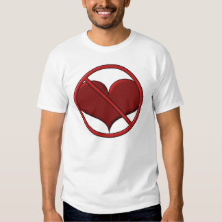 Anti Valentine's Day Heart: S.A.D. by Sonja A.S. Tee Shirt