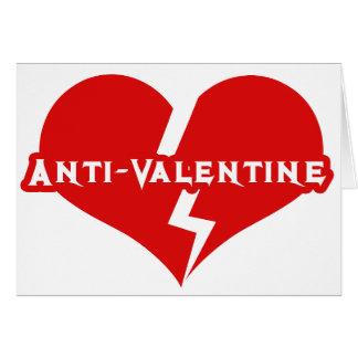 Anti-Valentines Day Heartbreaker Cards