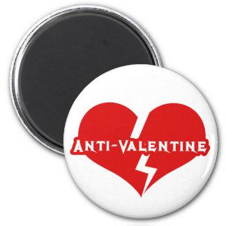 Anti-Valentines Day Heartbreaker Fridge Magnet